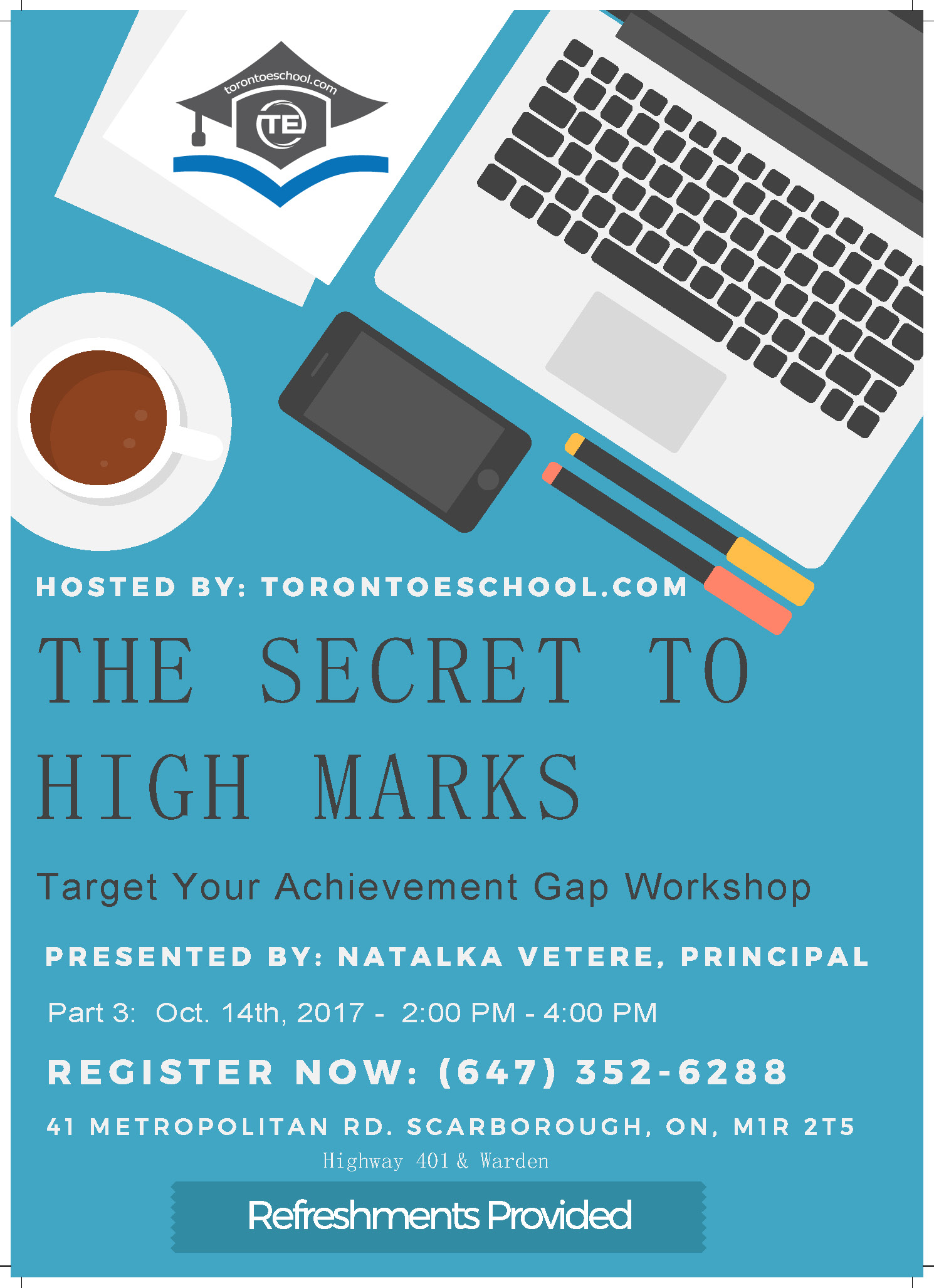 The Secret to High Mark Seminar